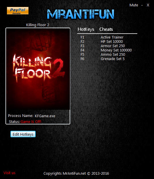 Killing floor 2 trainer 5 v1027 mrantifun download for Killing floor hacks