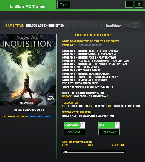 Warriors Orochi 4 V1 0 Plus 18 Trainer: Dragon Age: Inquisition Trainer +16 V1.12 LinGon