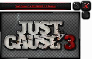 Just Cause 3 Trainer +9 v20160307 {HoG}