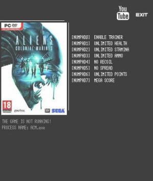 Aliens: Colonial Marines Complete Edition Trainer +7 v1.4.0 {LIRW GHL}