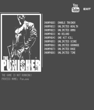The Punisher Trainer +8 v1.0 {LIRW GHL}