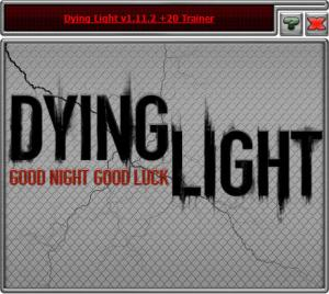 Dying Light: The Following Trainer +20 v1.11.2 {HoG}
