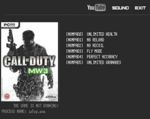 Call of Duty: Modern Warfare 3 Trainer +6 v2.7.3.8 {LIRW GHL}
