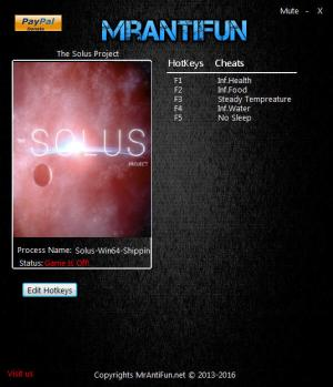 The Solus Project Trainer +5 v1.0 x64 {MrAntiFun}