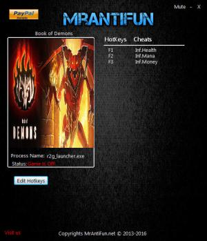 Book of Demons Trainer +3 v0.71.10201 {MrAntiFun}
