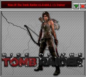 Rise of the Tomb Raider Trainer +5 v1.0.668.1 {HoG}