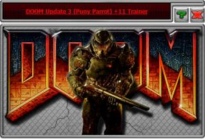 Doom 2016 Trainer +11 Update 3 Puny Parrot {HoG}