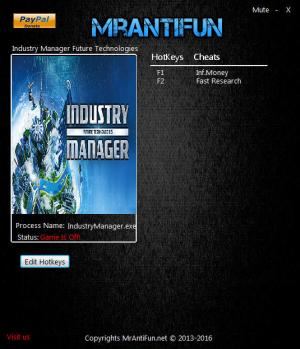Industry Manager: Future Technologies Trainer +2 v1.0.9 {MrAntiFun}