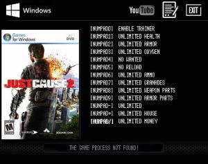 Just Cause 2 Trainer +12 v1.2 Steam {LIRW GHL}