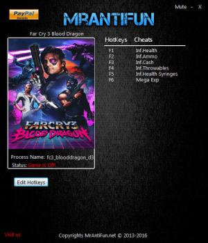 Far Cry 3: Blood Dragon Trainer +6 v1.00B {MrAntiFun}