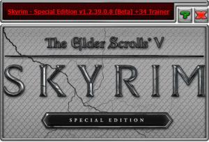 The Elder Scrolls 5: Skyrim Special Edition Trainer +35 v1.2.39.0.8 {HoG}