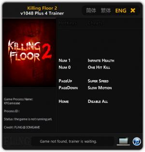 Killing Floor 2 Trainer +4 v1048 {FLiNG}