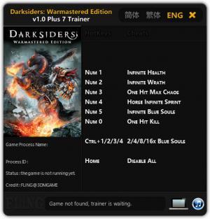 Darksiders Warmastered Edition Trainer +7 v1.0 {FLiNG}