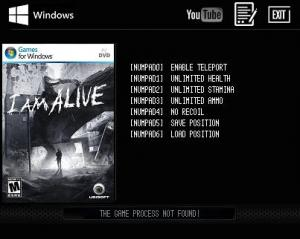 I Am Alive Trainer +5 v1.0.1 Steam {LIRW GHL}