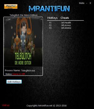 Teleglitch: Die More Edition Trainer +3 v9.3 {MrAntiFun}