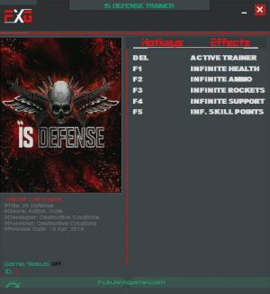 IS Defense Trainer +5 v1.0 - 1.5 {FutureX}