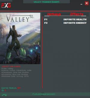 Valley Trainer +2 v1.0 {FutureX}