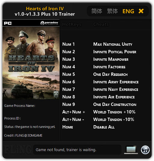 ^Hearts Of Iron 4 Cheats