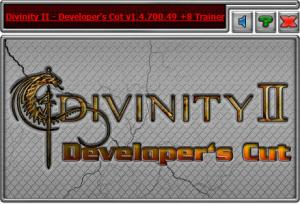 Divinity 2: Developers Cut трейнер Trainer +6 v1.4.700.49 {HoG}