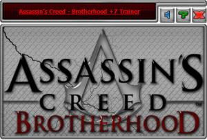 Assassin's Creed: Brotherhood Trainer +7 Update 02.02.2017 {HoG}