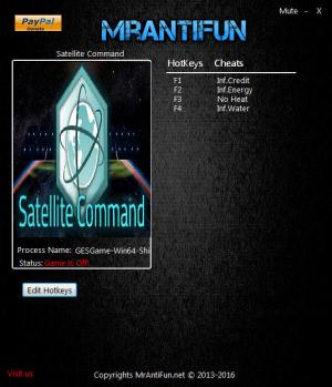 Satellite Command Trainer +4 v1.0.2 {MrAntiFun}