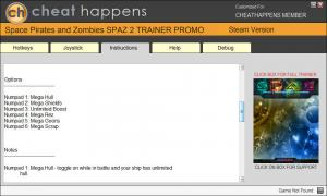 Space Pirates and Zombies 2 Trainer +6 v0.8.8 (Cheat Happens)