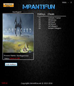 Northgard Trainer for PC game version 0.1.3885
