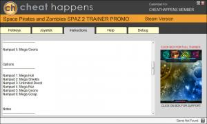 Space Pirates and Zombies 2 Trainer +6 v0.9.0 (Cheat Happens)