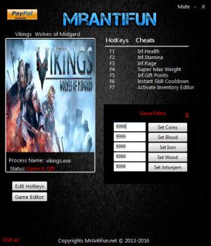 Vikings - Wolves of Midgard Trainer +11 v1.00 {MrAntiFun}