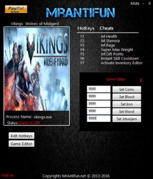 Vikings - Wolves of Midgard Trainer +11 v04.03.2017 {MrAntiFun}