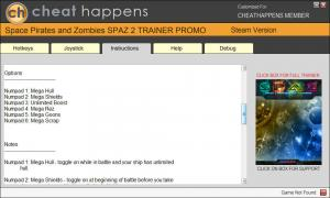 Space Pirates and Zombies 2 Trainer +6 v0.9.4 (Cheat Happens)