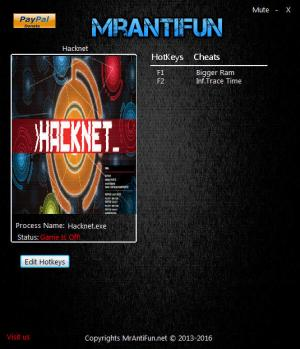 Hacknet Trainer for PC game version 5.036