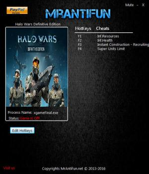 Halo Wars: Definitive Edition Trainer +5 v1.12033.2.0 {MrAntiFun}