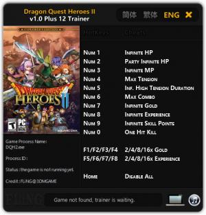 Dragon Quest Heroes 2 Trainer +12 v1.0 {FLiNG}