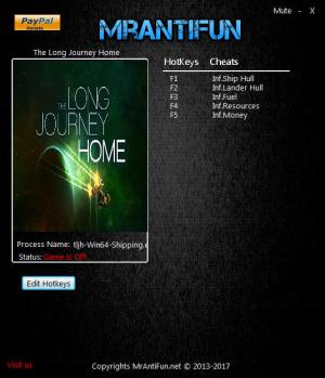 The Long Journey Home Trainer +5 v06.05.2017 {MrAntiFun}