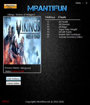 Vikings - Wolves of Midgard Trainer +11 v2.00 {MrAntiFun}