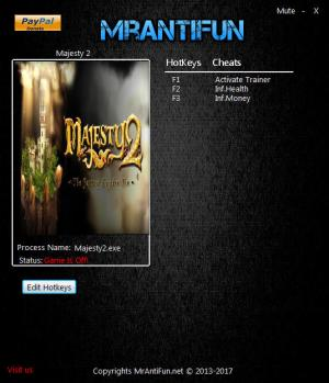 Majesty 2 Collection Trainer +2 v1.5.356 {MrAntiFun}