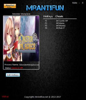 Monster Monpiece Trainer +4 v1.01 {MrAntiFun}