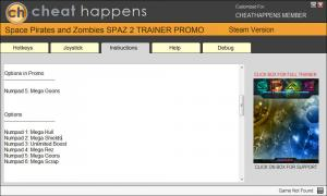 Space Pirates and Zombies 2 Trainer for PC game version 0.9.8