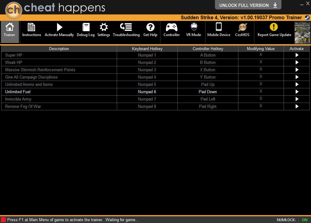 [BEST] Sudden Strike 4 [v1.00.19037 DLC Bonus Multi10] Tournament Cheats 1502728045_2017-08-14_171829