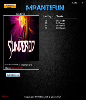 Sundered Trainer +4 v1.00 {MrAntiFun}