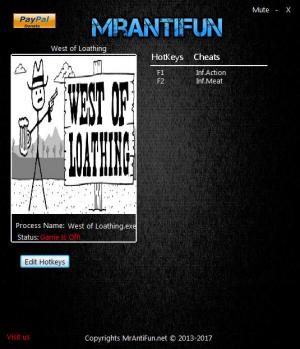 West of Loathing Trainer +2 v1.02 {MrAntiFun}