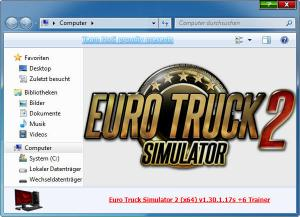 Euro Truck Simulator 2 Trainer for PC game version v1.30.1.17s 64bit