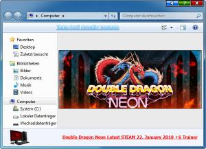 Double Dragon: Neon Trainer for PC game version Update 22.01.2018