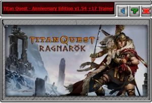 Titan Quest Anniversary Edition Trainer +17 v1.54 {HoG}