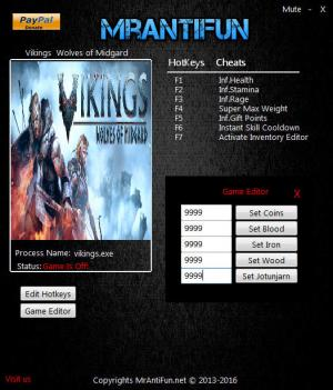 Vikings - Wolves of Midgard Trainer +11 v2.03 {MrAntiFun}