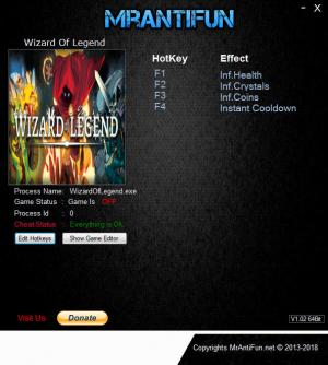 Wizard of Legend Trainers +4 v1.02e {MrAntiFun}