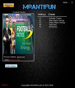Football Tactics Trainer +4 v06.07.2018 {MrAntiFun}