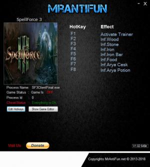 SpellForce 3 Trainer +8 v1.38 {MrAntiFun}