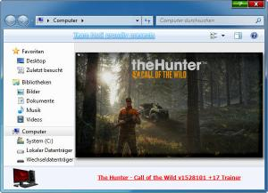 theHunter: Call of the Wild Trainer for PC game version v1528101